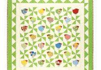 chub chicks download pdf pattern quilt pinwheel Cozy Chubby Chicks Quilt Pattern