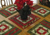 churn dash christmas placemats accuquilt accuquilt Christmas Quilting Placemat Gallery