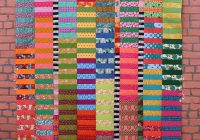 color stack quilt tutorial a jelly roll quilt pattern Interesting Quilt Patterns For Jelly Roll Strips