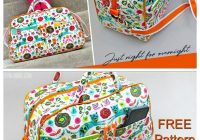 compact quilted duffle bag free pattern tutorial Elegant Quilted Duffle Bag Sewing Pattern Inspirations