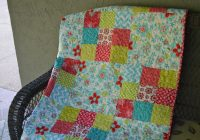 Cool 9 patch big block quilt tutorial 9   Big Block Quilt Patterns For Beginners Gallery