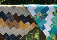 Cool a super easy quilt that finishes quickly quilting digest 10 Beautiful Quick And Easy Quilt Patterns Inspirations