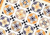 Cool halloween roses quilt pattern fig tree quilts ftq 1605 11 Modern Halloween Quilts Patterns
