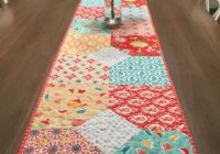 Cool layers of charm table runner patchwork table runner Interesting Patterns For Quilted Table Runners Inspirations