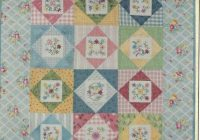 Cool lillians embroidered garden quilt pattern lori smith from my heart to your hand 9 Elegant Heart To Hand Quilt Patterns Gallery