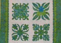 Cool quilt inspiration hawaiian quilts 11 New Hawaiian Applique Quilt Patterns