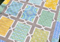 Cool spanish tiles patchwork quilt patterns tiled quilt quilts 9 Cool Large Print Quilt Patterns