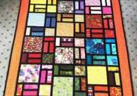 Cool stained glass quilt designed bob bluprint 11   Stained Glass Window Quilt Pattern Gallery
