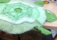 cool turtle rag quilt lferso Interesting Turtle Rag Quilt Pattern