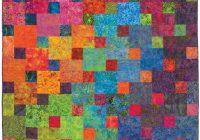 Cool xanadu quilt pattern designs jb quilting great for batiks or solids diy 68 x 88 10 Unique Quilt Patterns Using Batiks