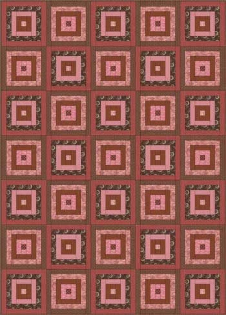 Permalink to Cozy Courthouse Steps Quilt Patterns