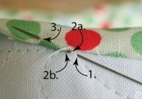 Cozy awesome tutorial for hand sewing quilt binding quilt 9 New Hand Sewing Quilt Binding Inspirations