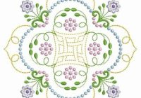 Cozy candlewicking quilt block embroidery design candlewicking 10   Candlewicking Patterns For Quilts