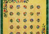 Cozy chelsea garden Stylish Pat Campbell Applique Quilt Pattern
