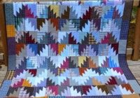 Cozy delectable mountain blocks for a scrappy quilt quilting cub 9 New Delectable Mountains Quilt Pattern Gallery