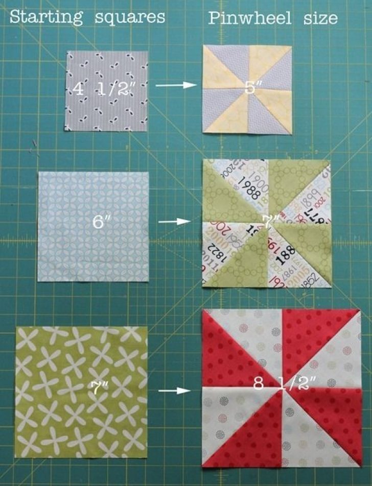 Permalink to 9 Unique Pinwheel Quilt Block Pattern Gallery