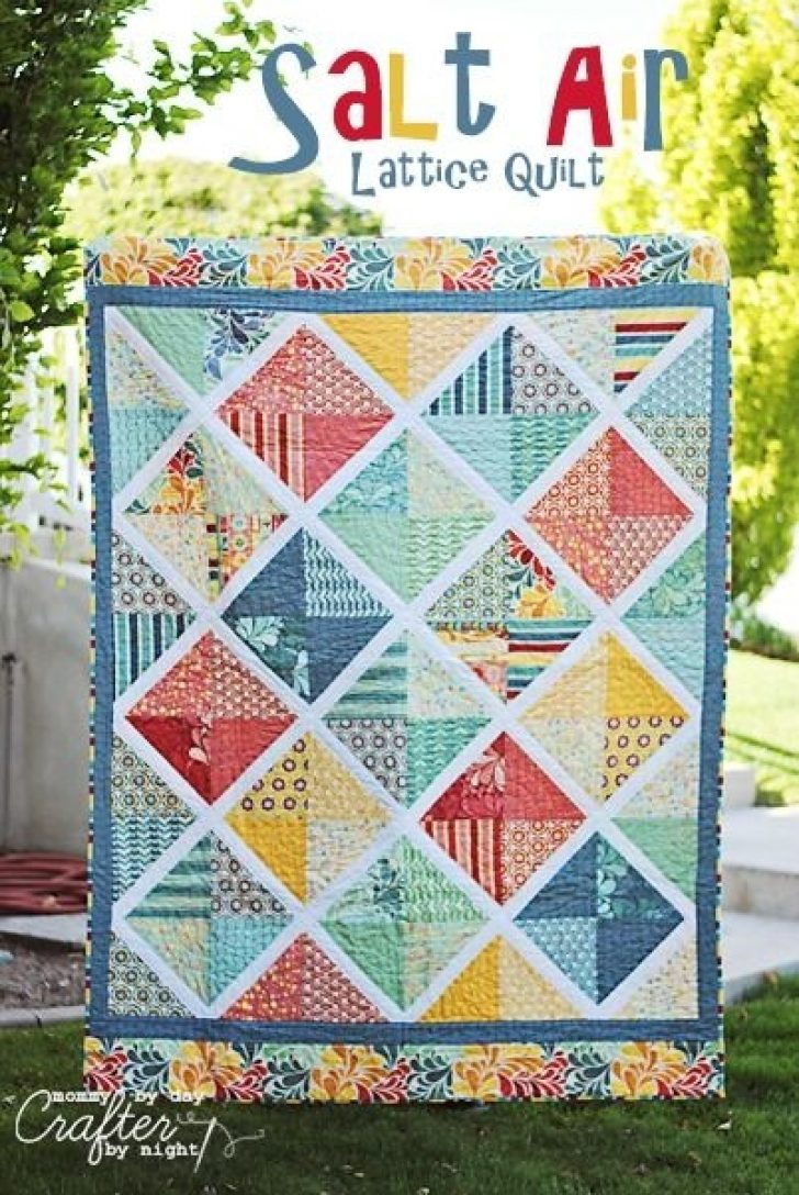 Permalink to 11 Modern Quilt Patterns For Layer Cakes Inspirations
