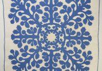 Cozy hawaiian applique quilt circa 1930s 11 New Hawaiian Applique Quilt Patterns