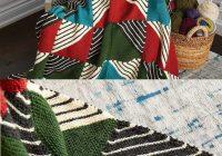 Cozy knit patchwork blanket free pattern 11 Stylish Patchwork Quilt Knitting Pattern
