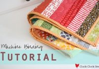 Cozy machine binding tutorial cluck cluck sew 9 Elegant Sewing Edging On Quilt Inspirations