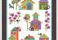 Cozy our house applique quilt pattern 9 Beautiful House Quilt Pattern