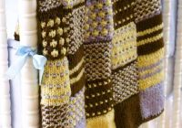 Cozy quilt knitted patchwork 11 Stylish Patchwork Quilt Knitting Pattern