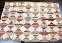 Cozy quilting adventures antique quilts another treat 11 Stylish Chinese Lantern Quilt Pattern Inspirations