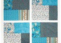 Cozy twist turn four patch quilt pattern quilt block patterns 11 Stylish Four Patch Quilt Ideas Gallery