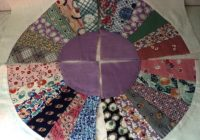 crazy quilt crafting supply vintage fabrics cotton hand sewn 71 blocks fan design motif assorted prints dorcas church project Elegant Vintage Crazy Quilt Supplies Inspirations