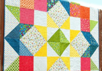 create a striking quilt with this versatile pattern Stylish Quilt Patterns For Layer Cakes By Moda Gallery