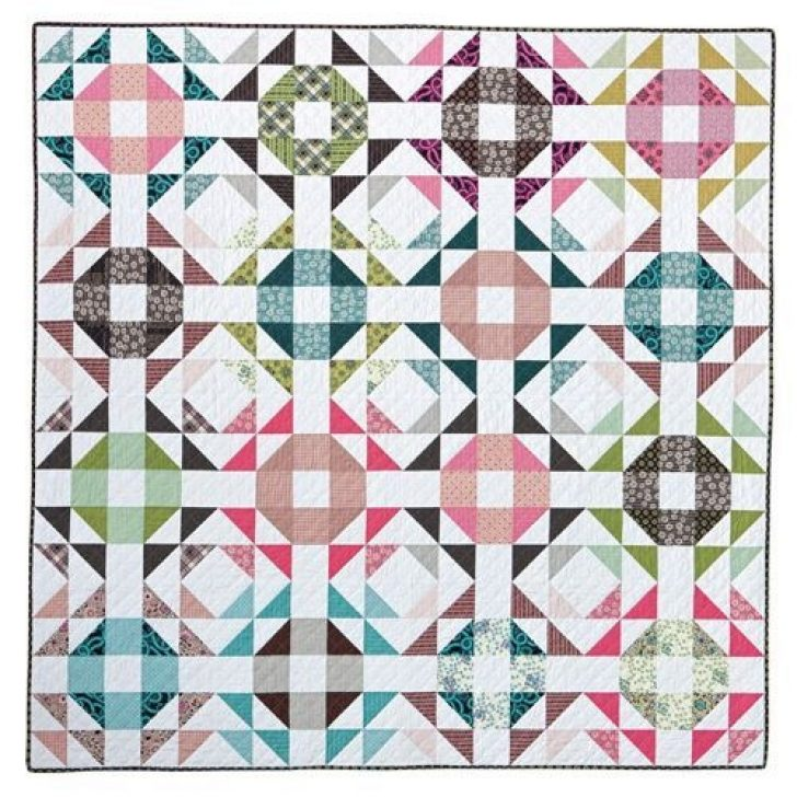 Permalink to Cozy Crown Of Thorns Quilt Pattern