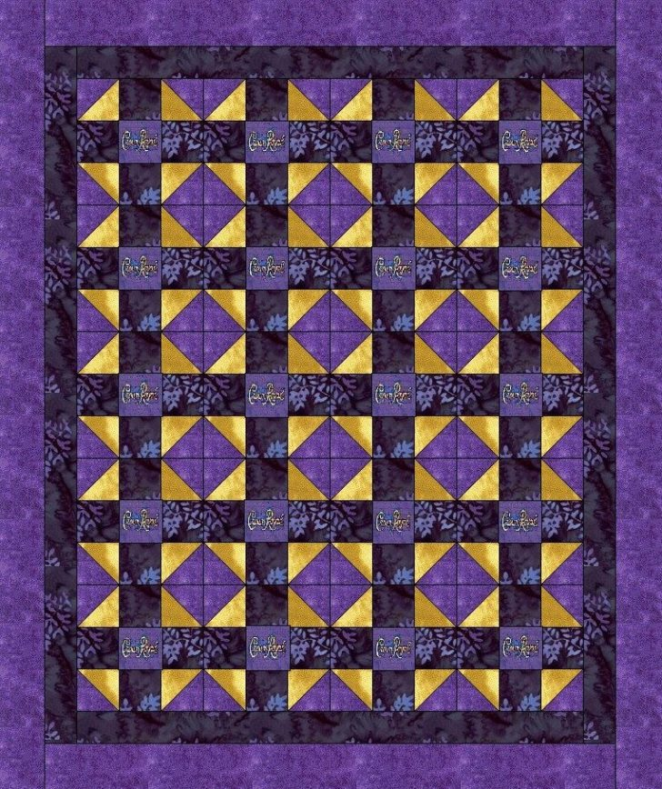 Permalink to Modern Crown Royal Quilt Patterns Gallery