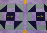 crown royal quilt pt 1 of 2 the sewing center Modern Crown Royal Quilt Patterns Gallery