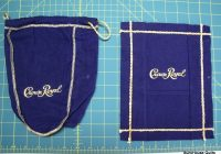 crown royal quilts pictures taking these crown royal bags Modern Crown Royal Quilt Patterns Gallery