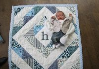 cute ba quilt i think i could do this one ba Baby Boy Quilt Patterns Inspirations