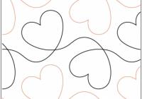 dear heart pantograph Cozy Pantograph Quilt Patterns