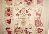 details about vintage valentine bom quilt pattern applique Elegant Vintage Valentine Quilt Pattern Verna Mosquera Inspirations