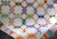 dig into your scraps for this beautiful quilt quilting digest Stylish Waste Knot Quilt Instructions