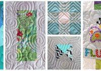 digital paper e2e pantographs quilting designs Cozy Pantograph Quilt Patterns