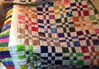 disappearing 4 block gregs blog Interesting Disappearing 4 Patch Quilt Pattern