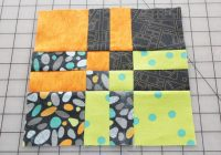 disappearing four patch tutorial Interesting Disappearing 4 Patch Quilt Pattern