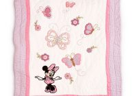 disney minnie mouse heirloom collection quilt ba blanket for ba Elegant Minnie Mouse Baby Quilt
