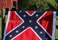 dixie land quilt pattern farmhousesoapshop on etsy Unique Confederate Flag Quilt Pattern
