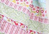 diy ba rag quilt simple pattern instructions i used Unique Rag Quilt Pattern Instructions