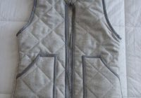 diy j crew herringbone quilted vest my diy blog Cool Quilted Vest Sewing Pattern Inspirations