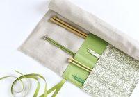 diy roll up knitting needle case Elegant Quilted Knitting Needle Case Pattern