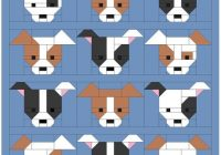 dog gone cute quilt pattern pdf instant download modern Modern Dog Gone Cute Quilt Free Inspirations