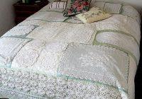 doily quilt quilts doily hankie vintage linen Interesting Vintage Doily Quilt Gallery