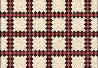 double irish chain quilt pattern easy quilt block easy Cozy Double Irish Chain Quilt Pattern Gallery