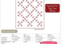 double nine patch classic vintage downloadable pdf quilt Double Nine Patch Quilt Pattern Gallery